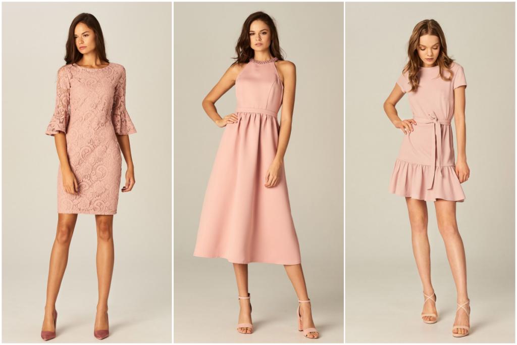 sukienki różowe mohito