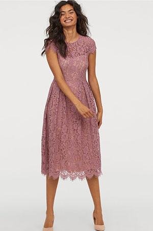 Sukienka midi na komunie