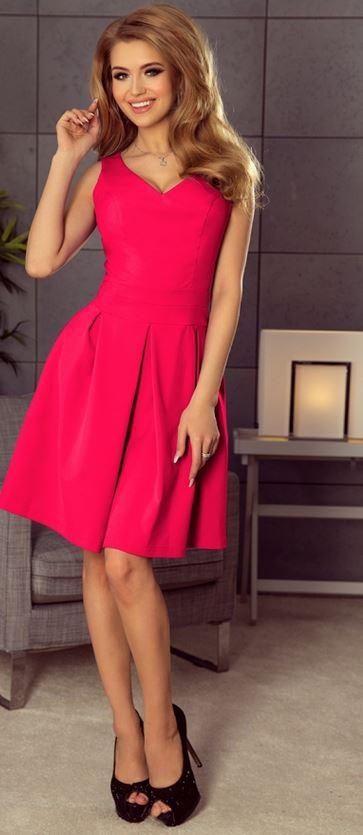 sukienka różowa ptak moda