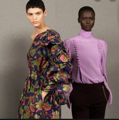 givenchy retro moda wiosna-lato 2020