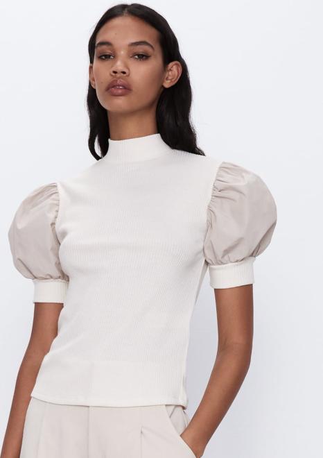 moda wiosna-lato 2020 bufiaste rękawy