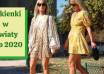 najmodniejsze sukienki w kwiaty 2020