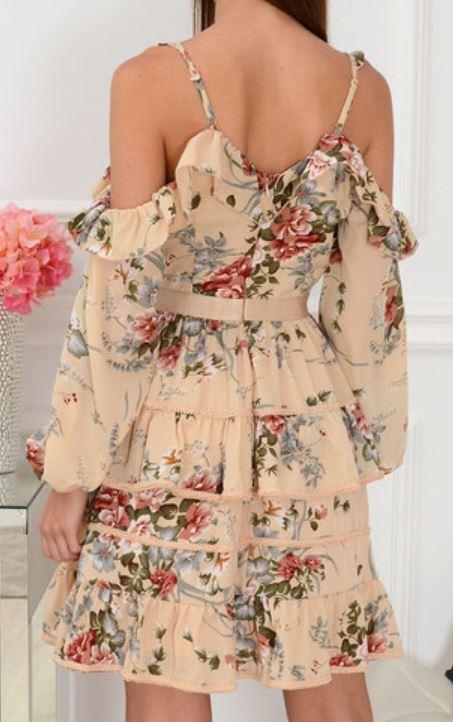 najmodniejsze sukienki w kwiaty lato 2020