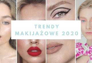 modny makijaż 2020