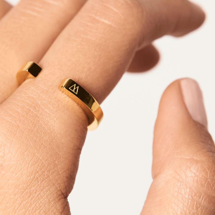 pierścionek minimal