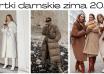 Kurtki damskie zima 2020
