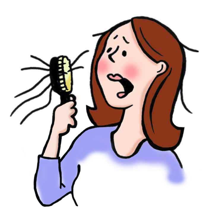 9 przyczyn wypadania włosów