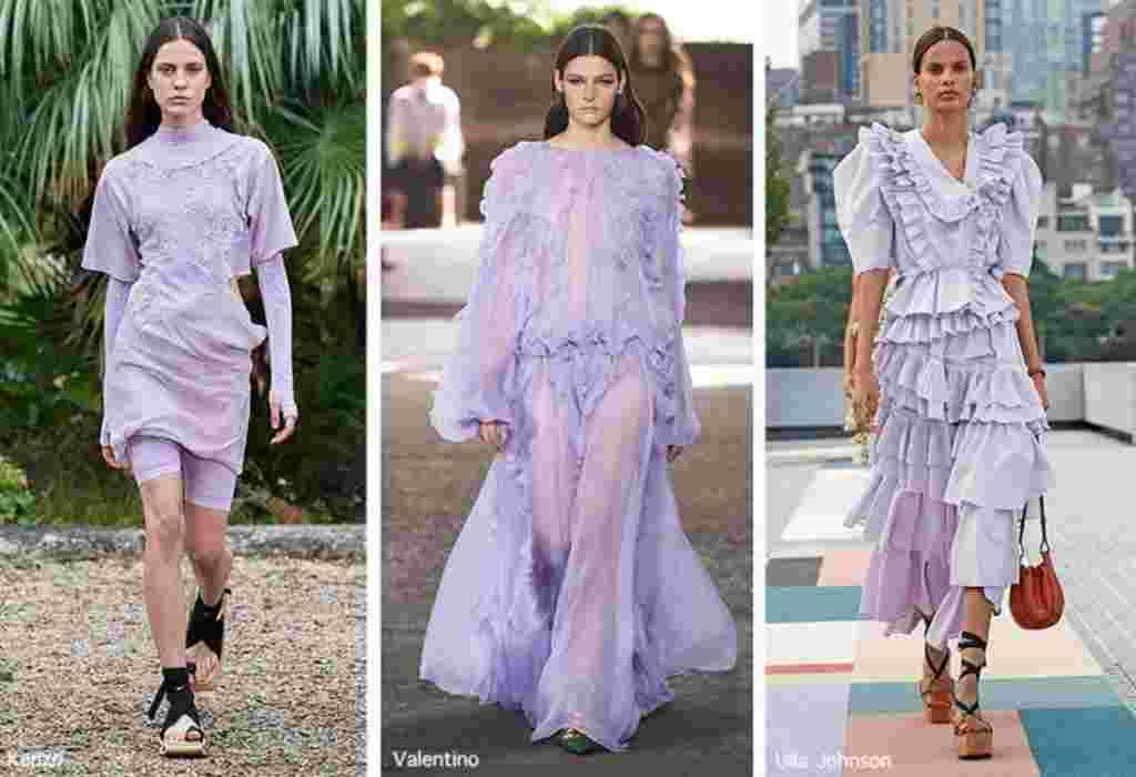 fiolet modny kolor 2021