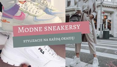 Modne sneakersy 2021