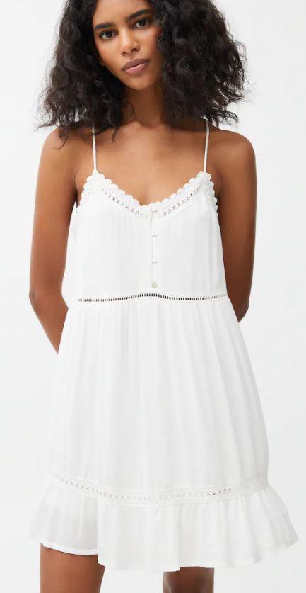 letnia sukienka biała