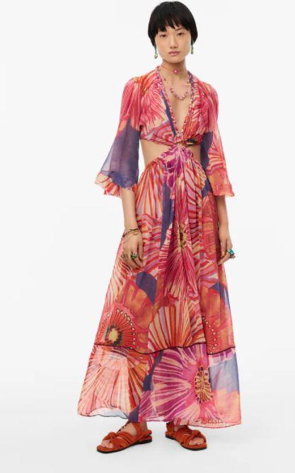 ZARA sukienka maxi